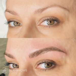 GlamBrows offer the microblading jersey city